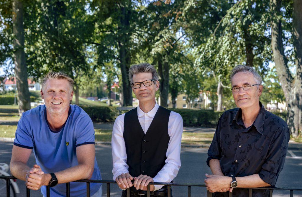 Joachim Björkman, Michael Claesson och Peter Habbe startar ny estetisk skola Artista